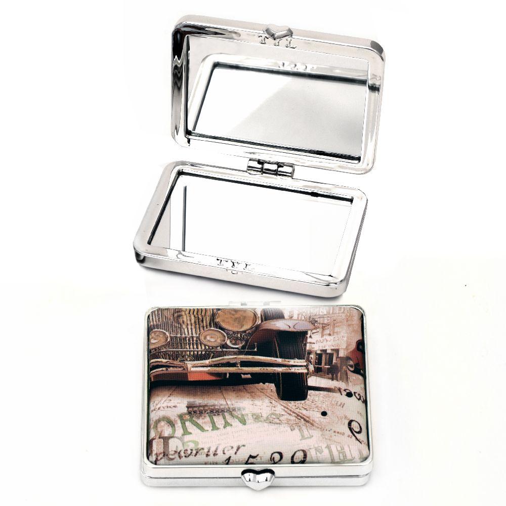 Καθρέπτης τσέπης 74x64x16 mm
