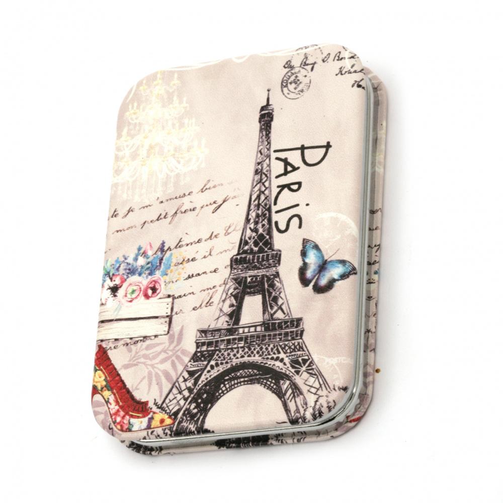 Καθρέπτης τσέπης 95x62 mm Paris MIX