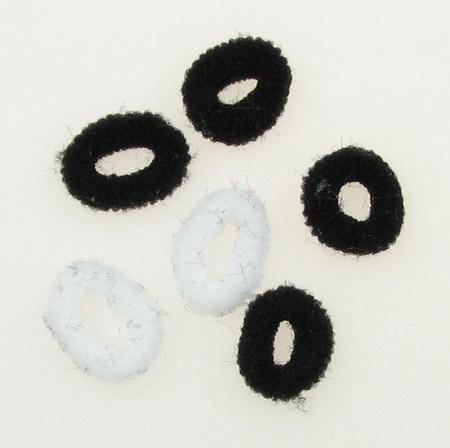 Λαστιχάκια για μαλλιά 15 mm - 100 τεμάχια