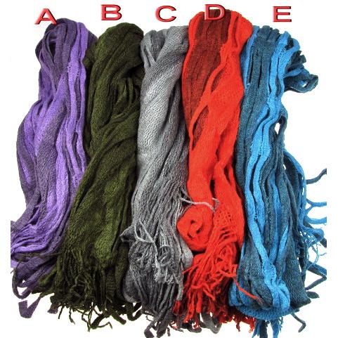 Κασκόλ διάφορα χρώματα