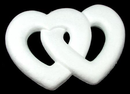 Styrofoam figure for decoration 280 x 190 mm