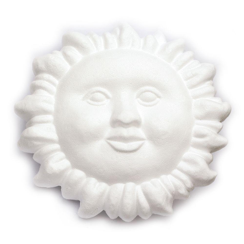 Soare din poliester de 270mm pentru decorare -1 buc