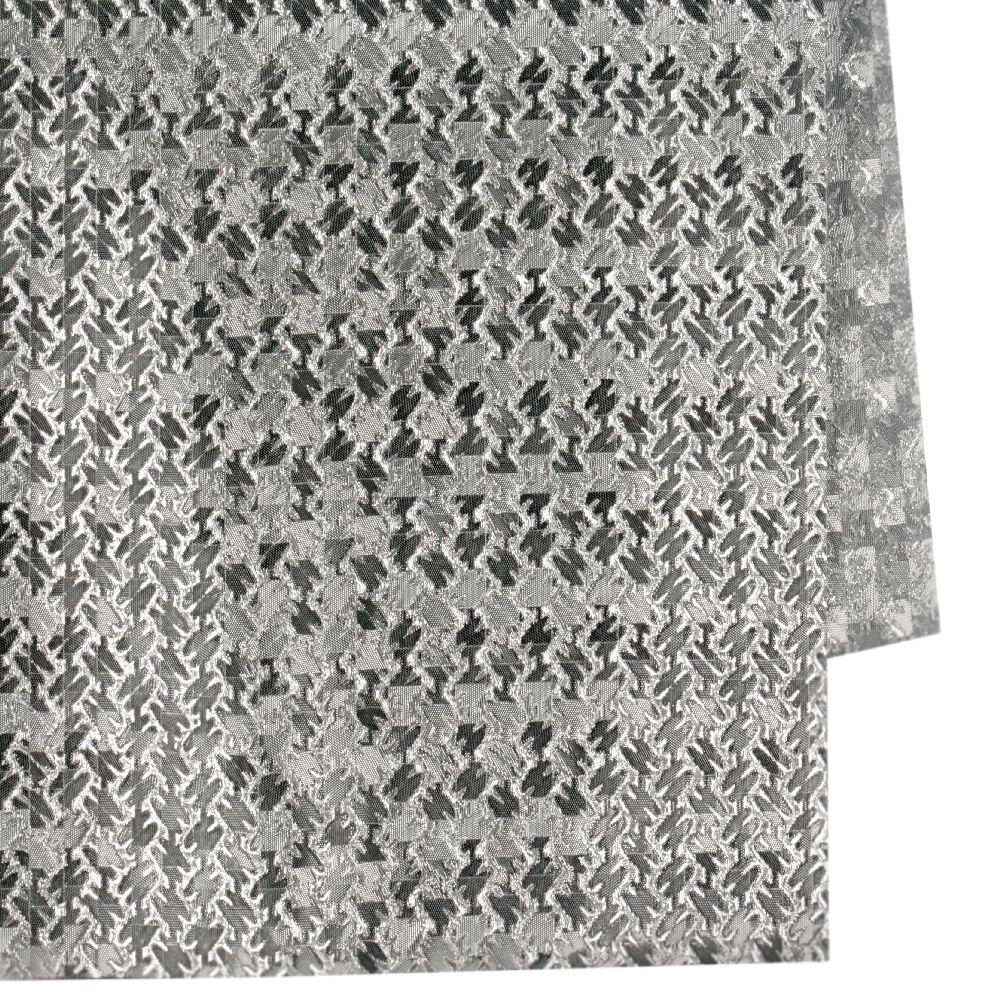Хартия опаковъчна 700x500 мм двулицева цвят сребро