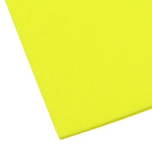 EVA / αφρώδες υλικό 2 mm Α4 20x30 cm κίτρινο