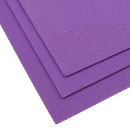 Material EVA / cauciuc microporos / 2mm A4 20x30 cm violet