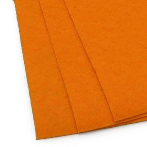 Feltă 1 mm A4 20x30 cm culoare portocaliu deschis -1 buc