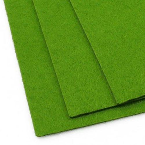 Φύλλο τσόχας Α4 2 mm 20x30 cm πράσινο -1 τεμάχιο