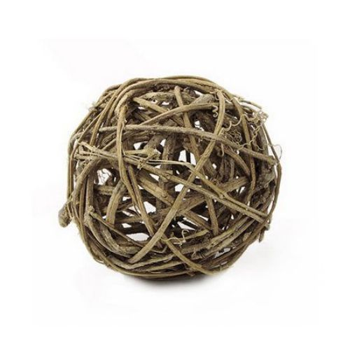 Rattan Bamboo ball for decoration 98 x 98 x 98 mm