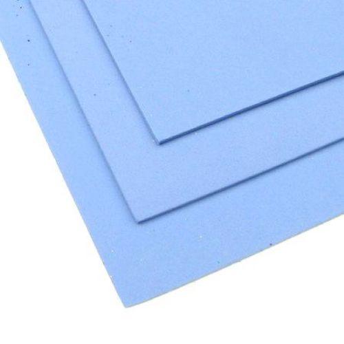 Αφρώδες υλικό EVA γαλάζιο 2 mm A4 20x30 cm