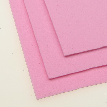 Material EVA / cauciuc microporos / 2 mm A4 20x30 cm lumină roz