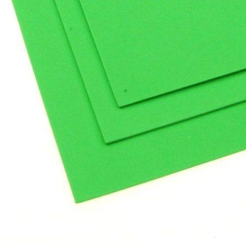 EVA / αφρώδες υλικό 2 mm A4 20x30 cm πράσινο ανοιχτό