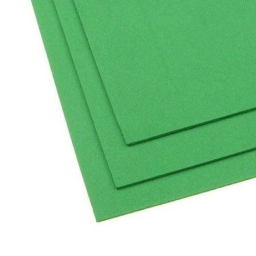 Material EVA / cauciuc micro poros / 2 mm A4 20x30 cm verde