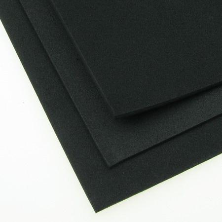 EVA / αφρώδες υλικό 2 mm A4 20x30 cm μαύρο