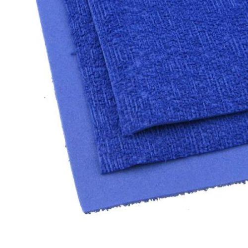 EVA Foam Fake Grass Blue, A4 Sheet 20x30cm 2mm Scrapbooking & Craft
