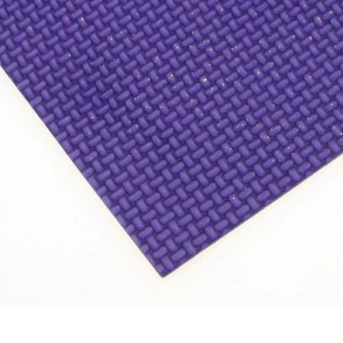 E.V.A. Embossed Foam Purple, A4 Sheet 20x30cm 2mm DIY Craft, Decoration