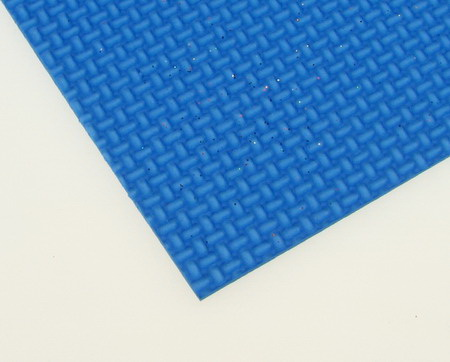 Material EVA / cauciuc microporos / 2 mm A4 20x30 cm reliefat albastru