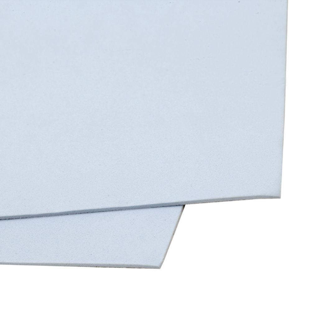 Material EVA / cauciuc microporos / 2 mm A4 20x30 cm albastru cer
