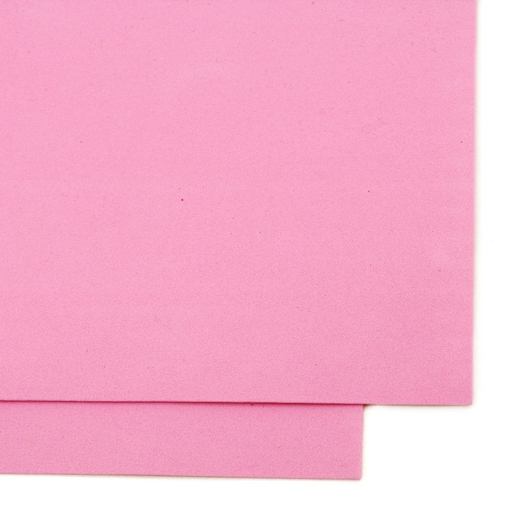 EVA Foam Pink, A4 Sheet 20x30cm 1.5mm
