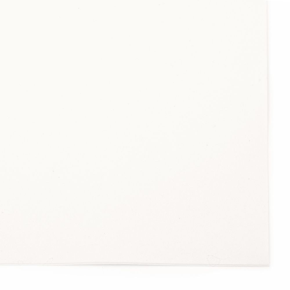 EVA Foam White, A4 Sheet 20x30cm 2mm Scrapbooking & Craft Decoration