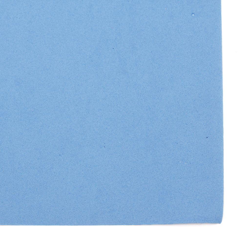 EVA материал /микропореста гума/ 0.8~0.9 мм А4 20x30 см син
