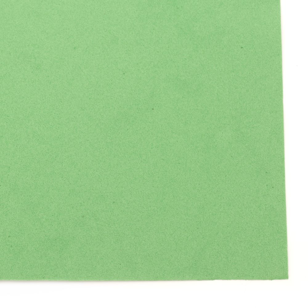 Material EVA / cauciuc microporos / 0,8 ~ 0,9 mm A4 20x30 cm verde