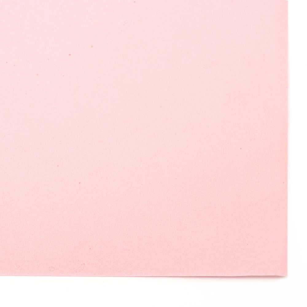 EVA Foam Pink, A4 Sheet 20x30cm 0.8~0.9mm Scrapbooking & Craft Decoration