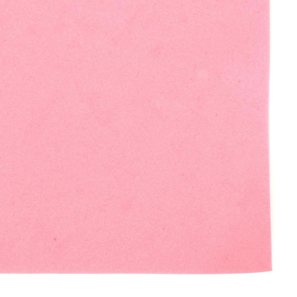 Material EVA / cauciuc microporos / 0,8 ~ 0,9 mm A4 20x30 cm ciclamen