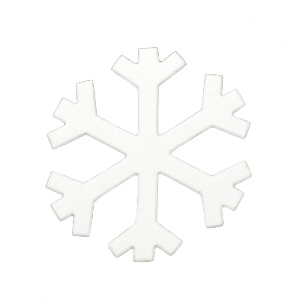 fulgi de zăpadă /foam  96x2 mm -5 buc