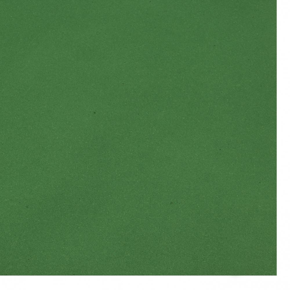 Cauciuc spumat / microporos / 0,8 ~ 0,9 mm 50x50 cm culoare verde închis