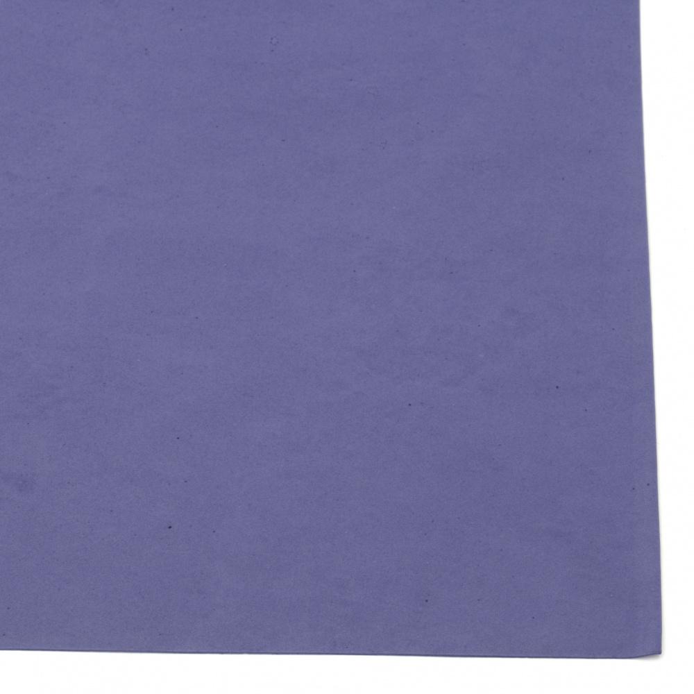 Cauciuc spumat / microporos / 0,8 ~ 0,9 mm 50x50 cm culoare albastru închis