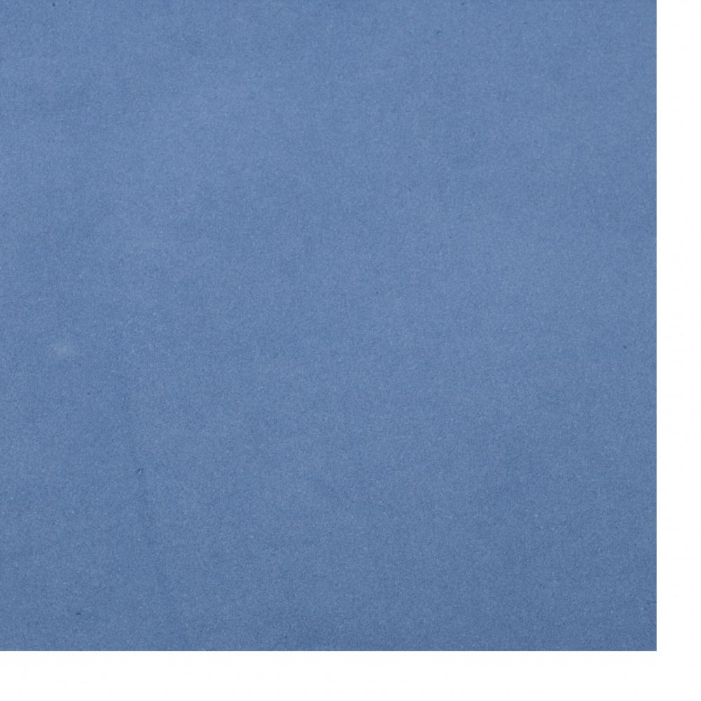 Αφρώδες φύλλα 0,8 ~ 0,9 mm 50x50 cm μπλε