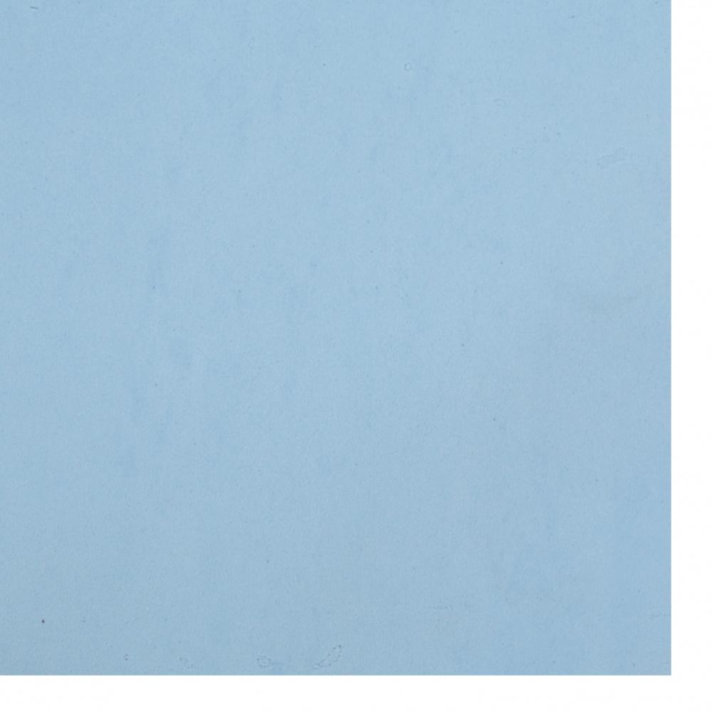 Αφρώδες φύλλα 0,8 ~ 0,9 mm 50x50 cm μπλε ανοιχτό