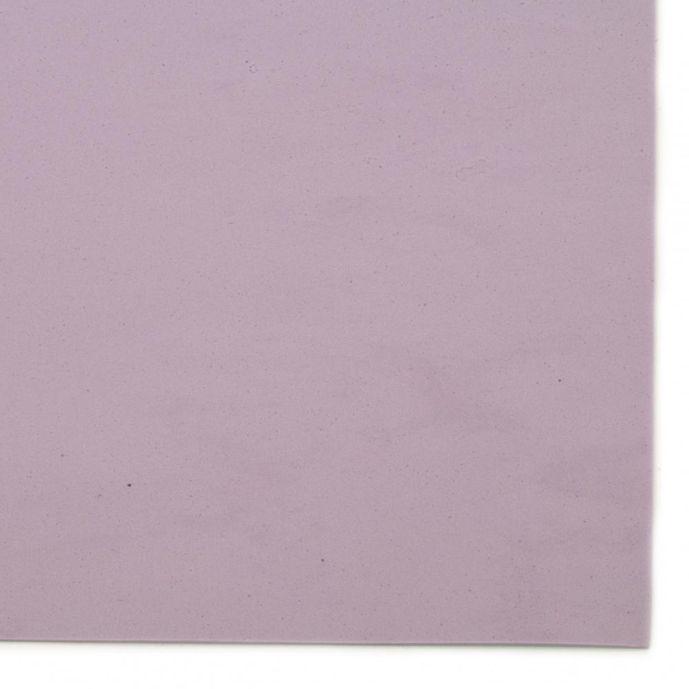 EVA материал /микропореста гума/ 2 мм А4 20x30 см лилав светло