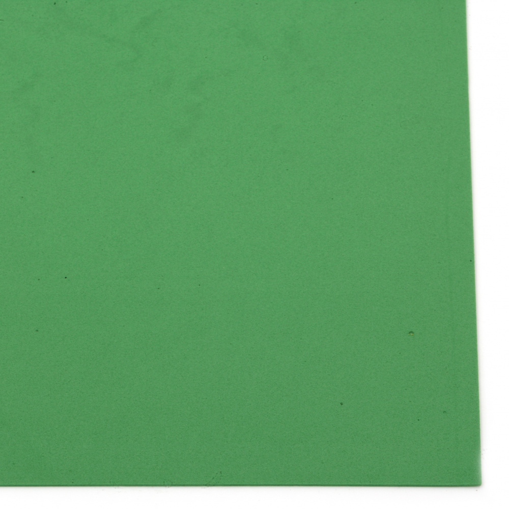 EVA материал /микропореста гума/ 2 мм А4 20x30 см зелен