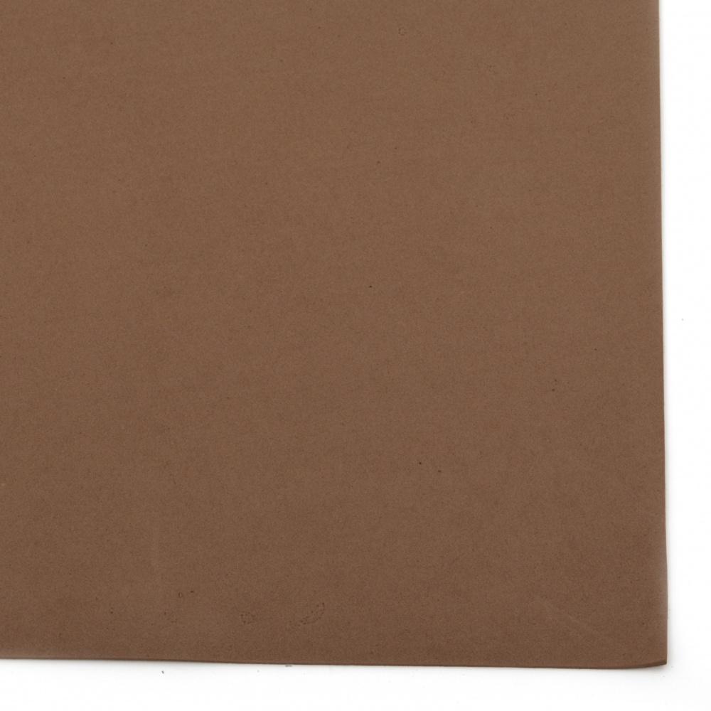 EVA материал /микропореста гума/ 2 мм А4 20x30 см кафяв