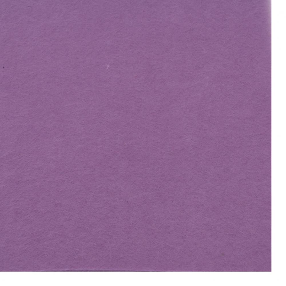Φύλλο τσόχας 1 mm A4 20x30 cm μωβ -1 τεμάχιο