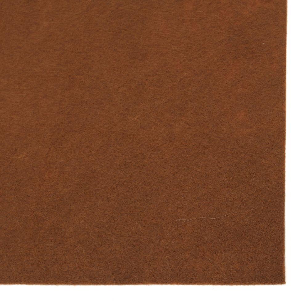 Brown Felt Sheet, A4 20x30mm 1mm