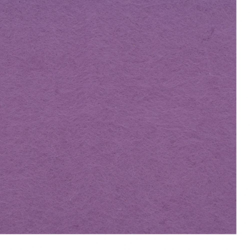 Φύλλο τσόχας μαλακό 2 mm A4 20x30 cm μωβ -1 τεμάχιο