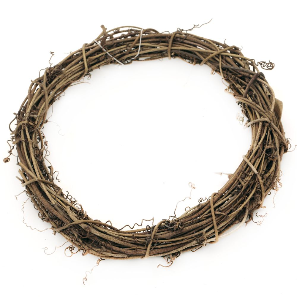 Wooden  wreath for decoration 200 mm