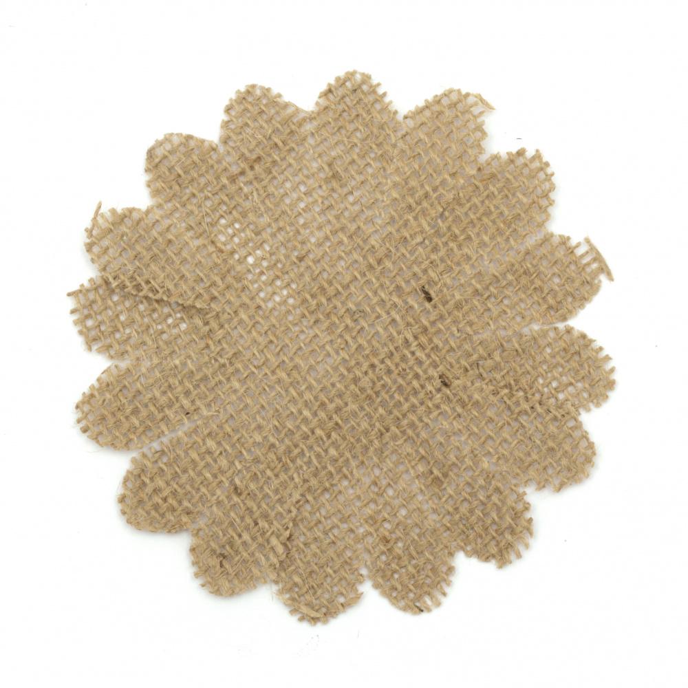 Λουλούδι λινάτσα 105x105 mm. Η τιμή είναι ανά τεμάχιο.