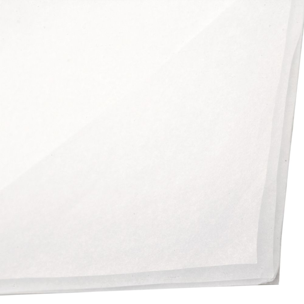 Оризова хартия 17 гр/м2 500x750 мм бяла -5 листа