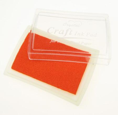Tampon de cerneală pigmentă 6x3,8 cm portocaliu
