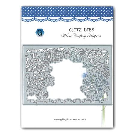 Cutting Die Decoration 14x9.5 cm frame