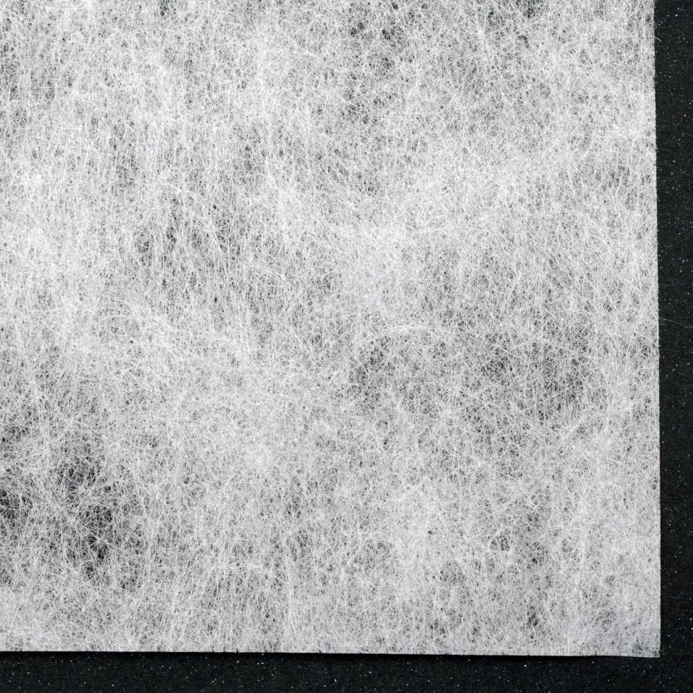 Текстилна хартия за опаковане физелин 60x60 см цвят бяла
