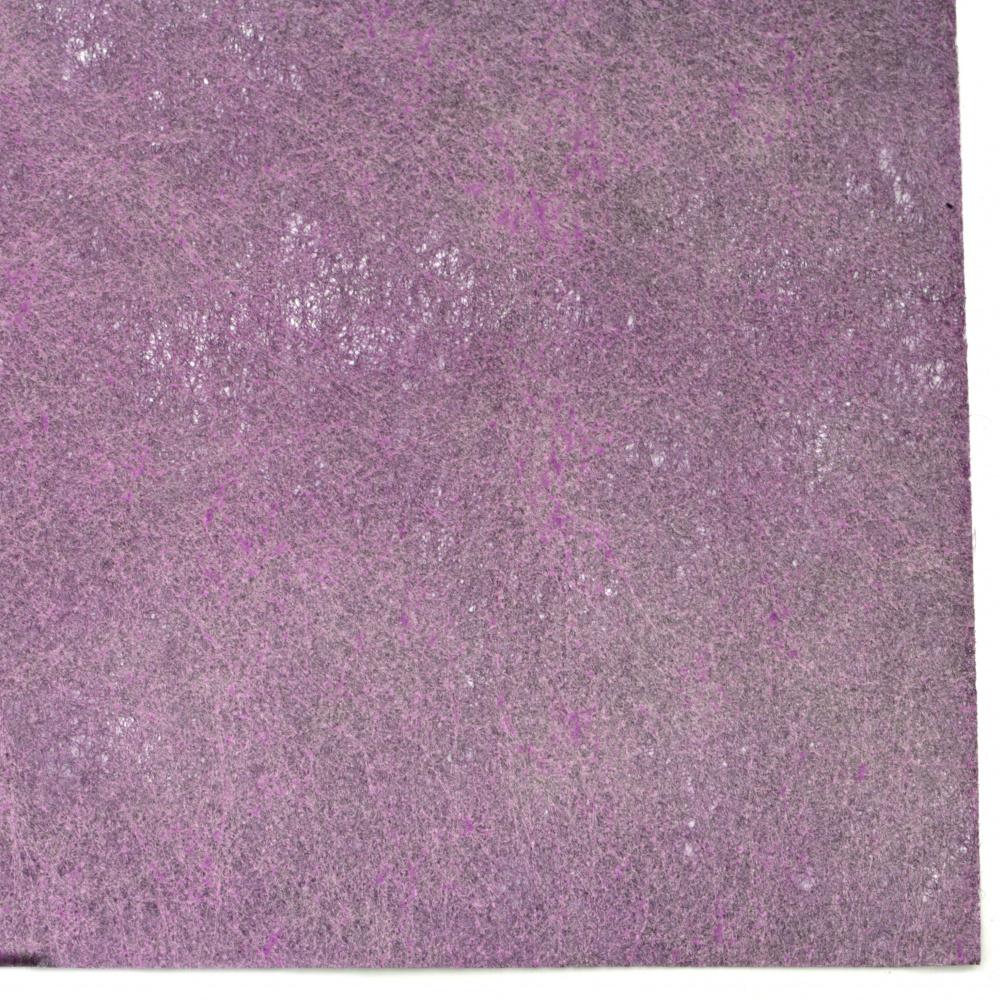 Текстилна хартия за опаковане физелин 60x60 см цвят лилава