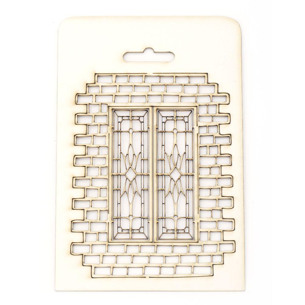 Παράθυρο χαρτόνι Chipboard 14x10,5 cm