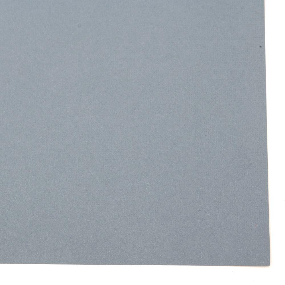 Структурен картон 30.5x30.5 см цвят сиво-синьо -1 брой