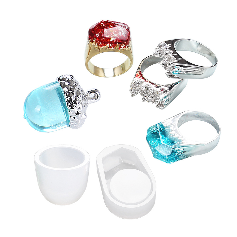 Силиконов молд / форма / триизмерен 18 мм пръстен