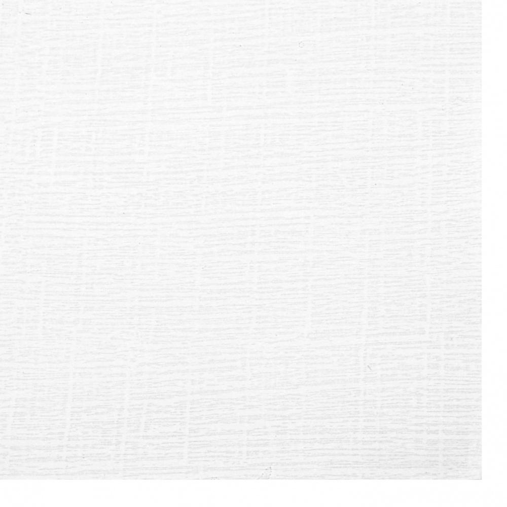 Хартия структурна едностранна 120 гр/м2 А4 (297x210 мм) бяла -1 брой