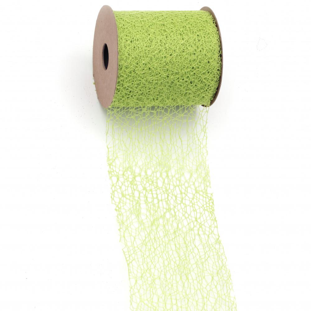 Plasa  de 8 cm verde -9 metri